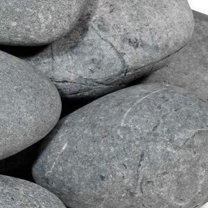 25 kg Beach pebbles 40-60 mm antraciet