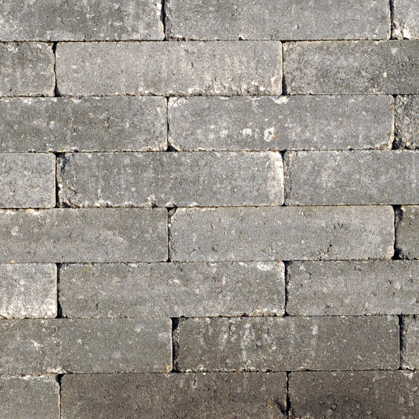 Abbeystones 20x5x7cm Grijs-zwart