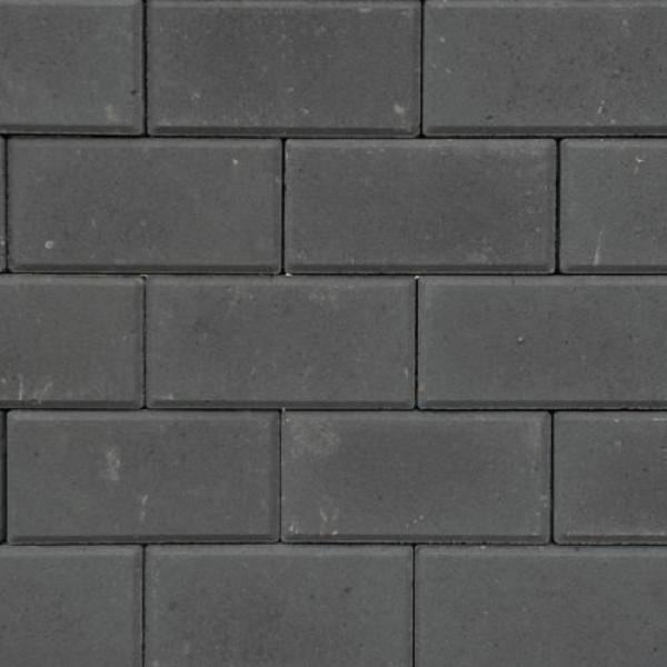 BSS 8 cm KOMO zwart met deklaag