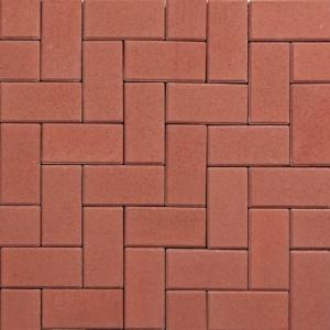 Betonklinker Rood 21x10,5x8cm KOMO +deklaag