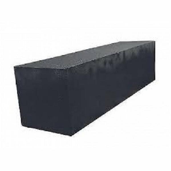 Linia 12x12x60 cm nero Excellence