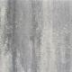 Tuintegels 60x60x4cm Grijs-zwart