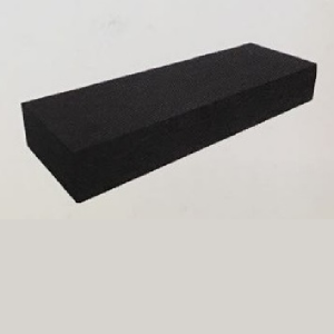 Traptrede massief 18x40x100 cm antraciet