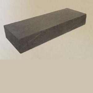 Traptrede massief 18x40x100 cm grijs