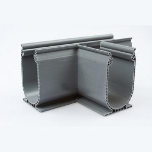 Ultradrain Silverline t-stuk Silver