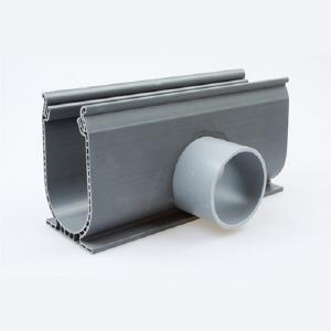 Ultradrain Silverline zij-afvoer Silver