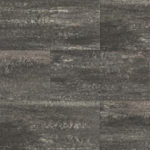 60Plus Soft Comfort 50x100x4 cm Grijs/Zwart