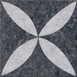 Kera Twice Flower Lotus Sierbestratingvoordeel 60x60 keramische tegel